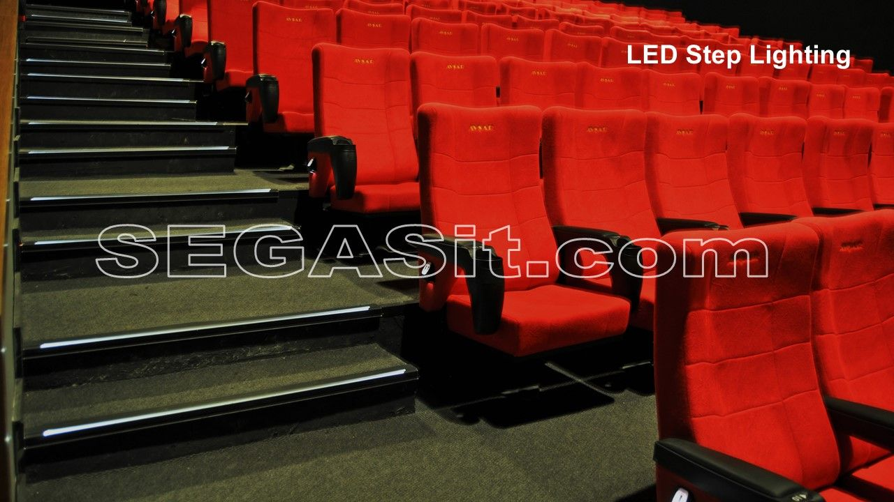 Cinema Step Stair Aisle Lighting Segasit